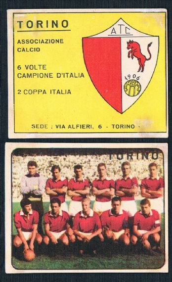 1961  Panini Denis Law  Torino 1st pair